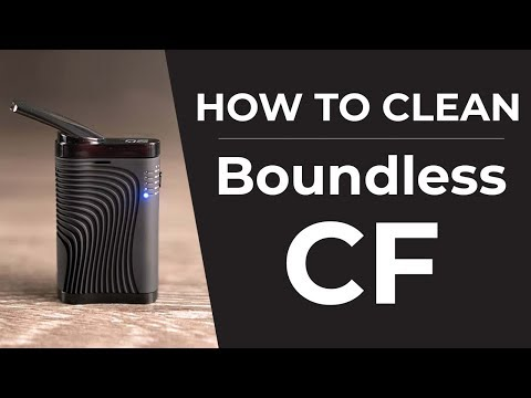 Boundless CF Vaporizer Cleaning Guide   How To Clean Your Boundless CF Vaporizer