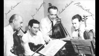Beethoven - String quartet n°5 op.18 n°5 - Budapest 1951