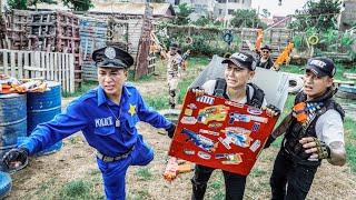 LTT Nerf War : Police Apprentice SEAL X Warriors Nerf Guns Fight Dr Ken Crazy Container Battlefield