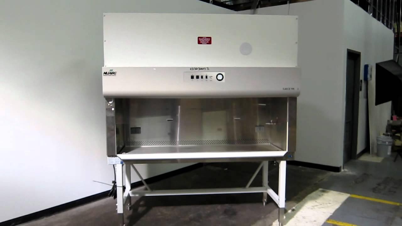 Used- NuAire Biological Safety Cabinet, Model NU-425-600 - Stock ...