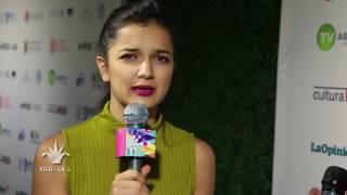 Entrevista co la actriz Vico Escorcia