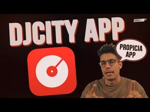 DJCITY APP ➡ Descarga música en lotes 📍DJCITY LATINO LAB
