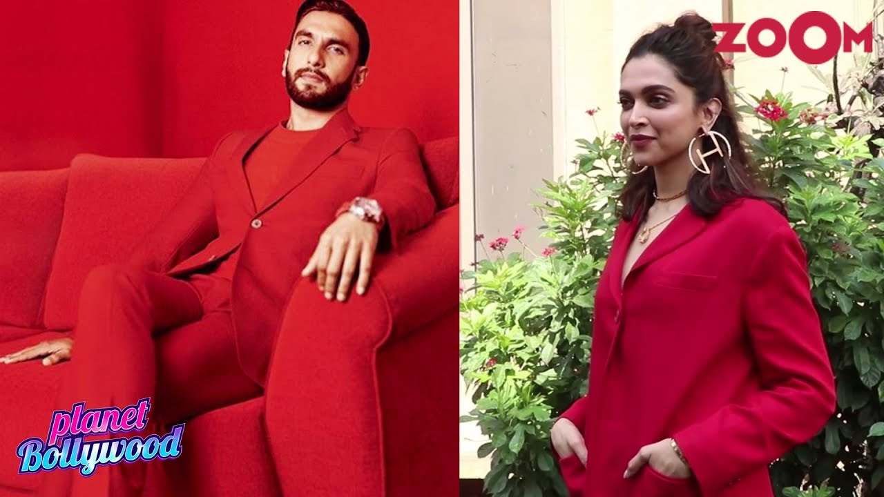 Ranveer Singh and Deepika Padukone get called out for wearing the same outfit | Bollywood News