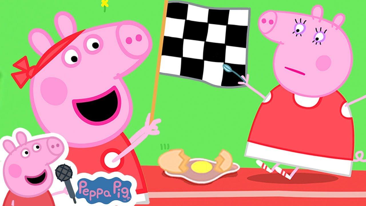 Peppa Pig's Racing Song | Old McDonald | Peppa Pig Nursery Rhymes & Kids Songs