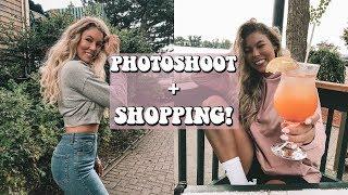 PHOTOSHOOT + SHOPPING!