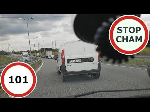 Stop Cham #101 – Niebezpieczne i chamskie sytuacje na drogach
