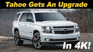 2018 Chevrolet Tahoe RST 6.2L First Drive Review In 4K