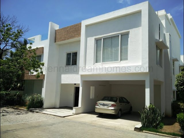 4 BHK Luxury Villa for Resale in ECR - Call +91-98409 51001/003 now!