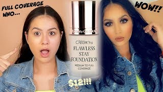 NEW BEAUTY CREATIONS FLAWLESS STAY FULL COVERAGE FOUNDATION REVIEW WOW!!!   TANIAXO