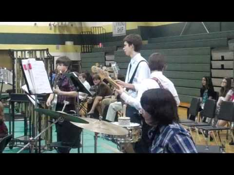 Brentwood Middle Jazz Band Plays Buffalo Head