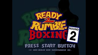 READY 2 RUMBLE BOXING: Round 2 (Dreamcast) - Partida Completa [60fps]