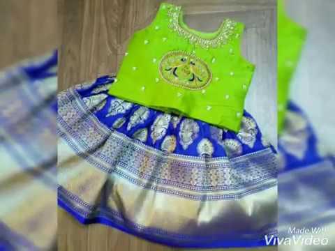 Kids Letest Lehenga choli Designs