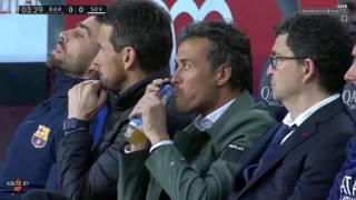 #الجولة_30 مباراة برشلونة واشبيلية [كاملة] الدوري الاسباني تعليق حفيظ دراجي-HD