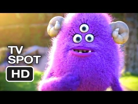 Monsters University Official TV Spot #1 - Imagine You at MU (2013) - Pixar Prequel HD