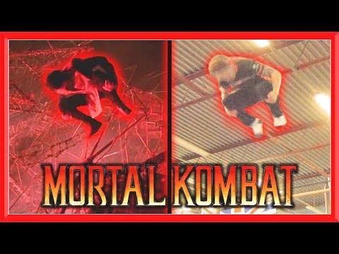 MORTAL KOMBAT Movie Stunts In Real Life | Flips & Kicks