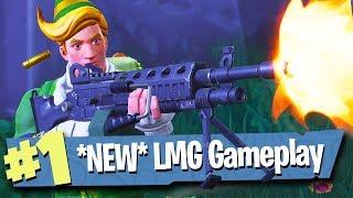 *NEW* LIGHT MACHINE GUN (LMG) - Fortnite: Battle Royale
