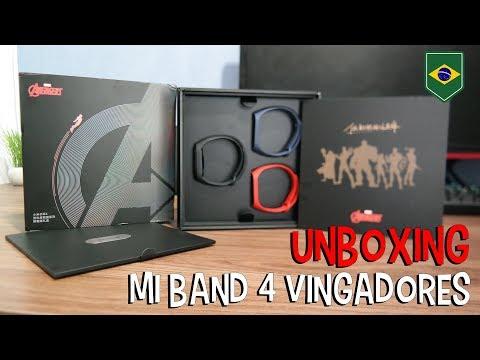 Mi Band 4 Edição Limitada Vingadores (Avengers Limited Edition) Unboxing