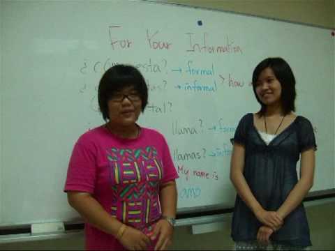 Basic Spanish Conversation in Mandarin Chinese (中文)