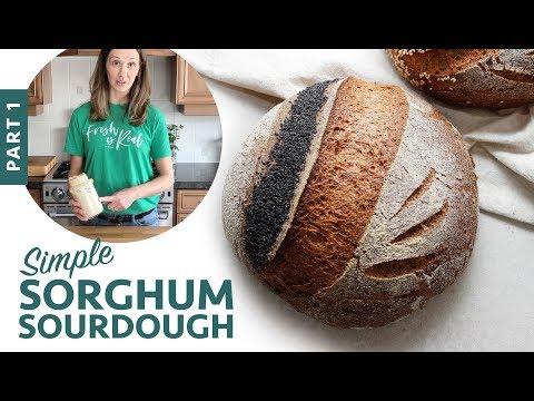 Simple Sorghum Sourdough Part 1 (Gluten-Free Vegan Bread)
