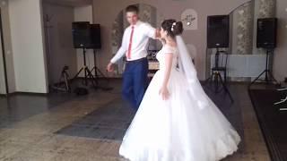 не сложный свадебный танец жениха и невесты Родино 2017