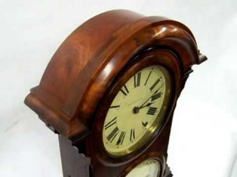 Antique Clocks: Seth Thomas Parlor Calendar #4 Clock