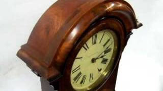 Antique Clocks: Seth Thomas Parlor Calendar #4 Clock