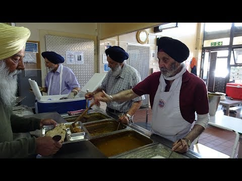 Why does Free Indian Food (Langar) get served at Sikh
