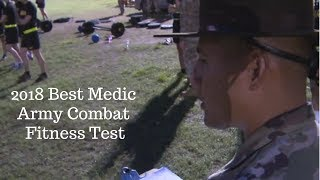 Best Medic Army Combat Fitness Test 2018