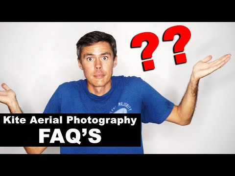 Answering Questions About Kite Aerial Photography (KAP FAQ's)