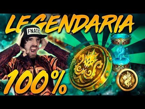 LEGENDARIAS 100% Y PERMANENTE! *NO ME LO CREO* (Abriendo Hextech)