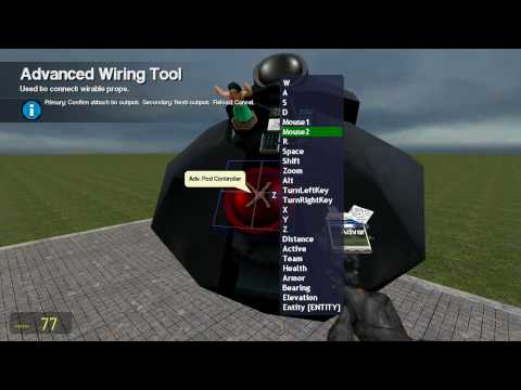 Gmod Tutorial 1, Perfect Auto / Laser / Mouse Aimed Facer Turret [HD]