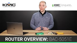BACnet Router Overview - BAC-5051E