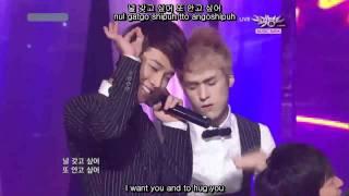 (ENG/HAN/ROM) I Like You The Best (live perf) - Beast