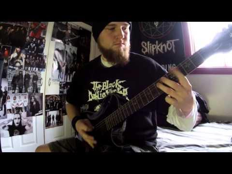 Love Lost In A Hail Of Gunfire - Bleeding Through guitar cover