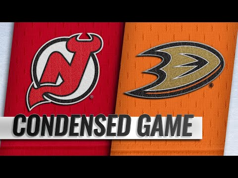 12/09/18 Condensed Game: Devils @ Ducks