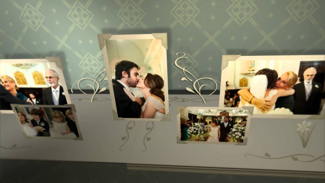 3d wedding photo album after effects template youtube. Black Bedroom Furniture Sets. Home Design Ideas