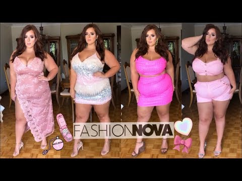 HOT GIRL PINK SUMMER VIBES 🎀 Fashion Nova Curve Try-on Haul Plus-Size OLIVIASWORLD95