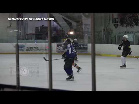 Justin Bieber Playing Ice Hockey | Full Video | Justin Bieber Seattle Trip With Selena Gomez