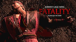 "MORTAL KOMBAT X · Johnny Cage ""Here"