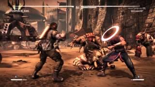 Mortal Kombat X Team battle 3v3