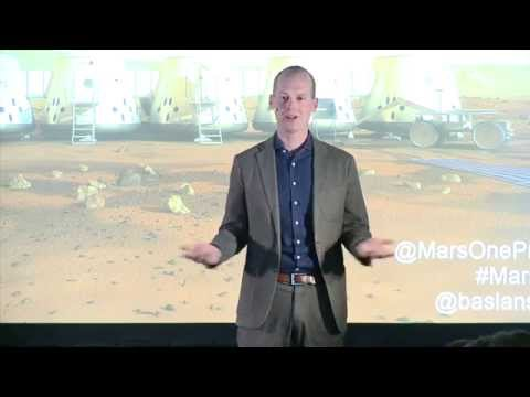 Bas Lansdorp - Mars One - Permanent Human Settlement on Mars