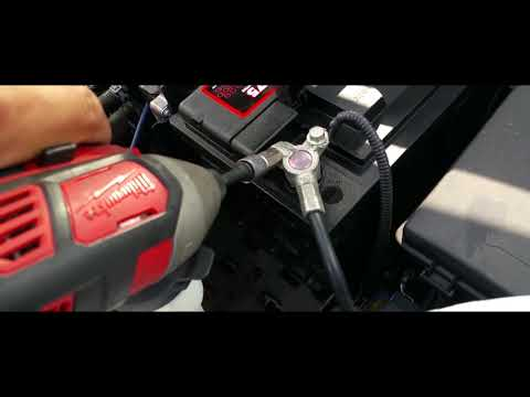 How to: Install a battery from a 2016 Buick Encore