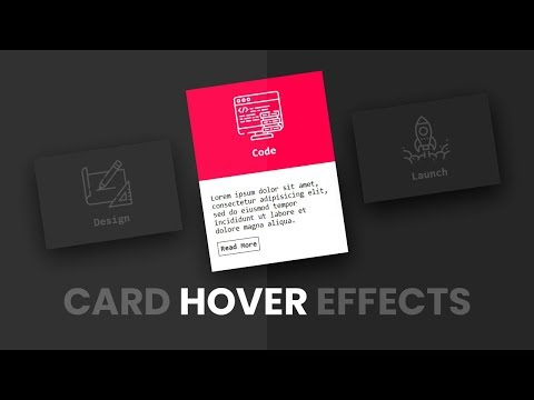 CSS Card Hover Effects | Html & CSS
