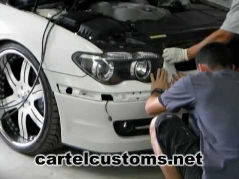 Custom BMW Alpina on 22 Asanti Wheels Cartel Customs BigIrv305