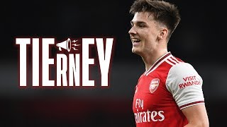 COMPILATION: Kieran Tierney makes his debut | Arsenal 5-0 Nottingham Forest