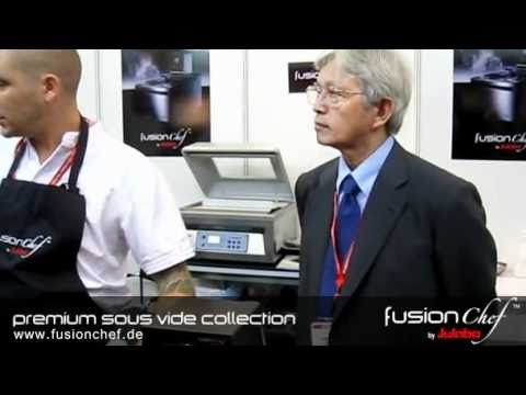 fusionchef by Julabo - Chef Ryan explains SousVide at FHA Singapore