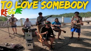 Bee Gees - To Love Somebody | Tropavibes Reggae Cover
