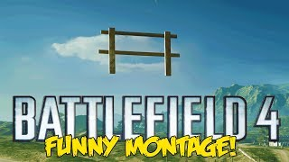 Battlefield 4 Funny Montage! - The Magic Fence, Afk Trolling ,funny Glitch Ghost (bf4 Funny Moments)