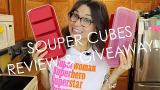 Thank you so much to souper cubes! i'm excited be partnering with cubes on this giveaway. these products are useful for freezing many th...