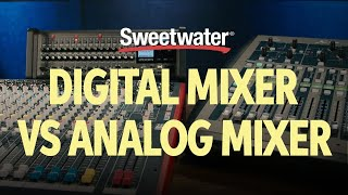 Digital Mixer vs Analog Mixer – What's the Difference? 🎛 | Live Sound Lesson